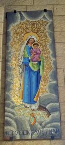 Mariendarstellung in der Verkündigungskirche