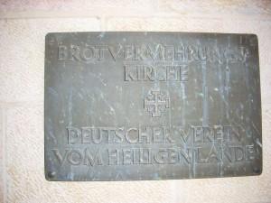 Der Auftraggeber dieser bekannten Kirche - der Deutsche Verein vom Heiligen Lande