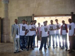 ...dieser eritreischen Touristen!