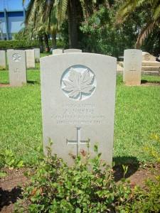 Auch kanadische Soldaten haben hier ihre letzte Ruhe gefunden