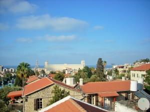 Über den Dächern von Haifa